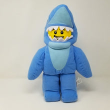 Load image into Gallery viewer, LEGOLAND® EXCLUSIVE! Shark Guy LEGO® Minifigure Plush - SAVE $5