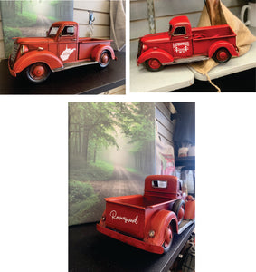 Ravenswood or WV Customized Red Trucks