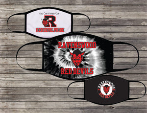 RAVENSWOOD RED DEVIL MASKS