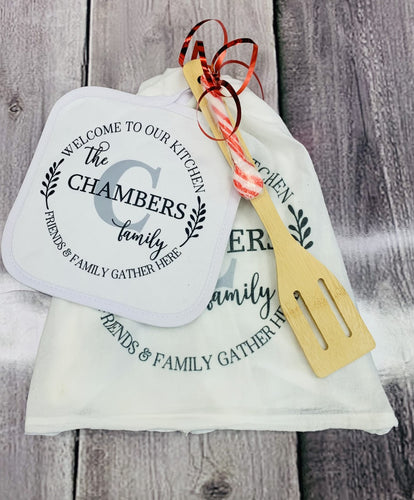 PERSONALIZED FAMILY GIFT SET