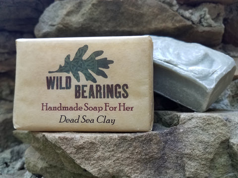 Invigorating Dead Sea Clay Facial Bar (3-pack)