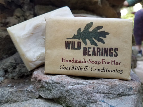 Goat Milk and Conditioning Soap (3-pack)