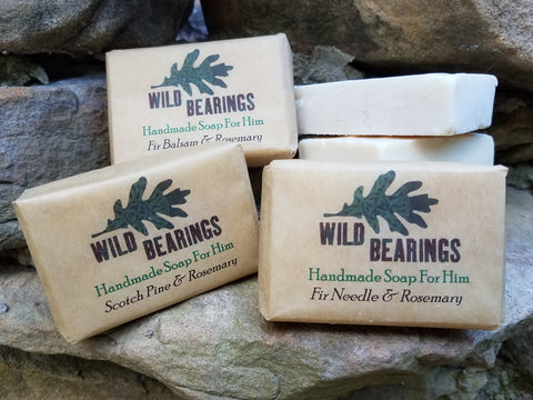 Men's Handmade Soap Sampler (3-pack)