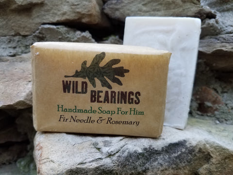 Fir Needle Handmade Soap (3-pack)