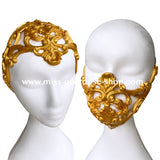 2 in 1 - Baroque latex headpiece/ mask