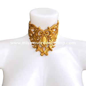 Melodya latex collar