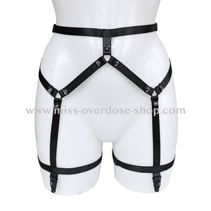 Black Magic suspender belt harness