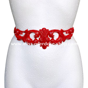 Royal Tease latex belt