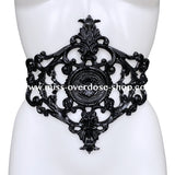 Empress latex belt