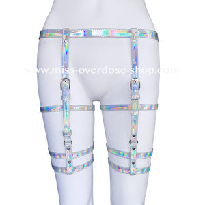 Holographic harness bottoms