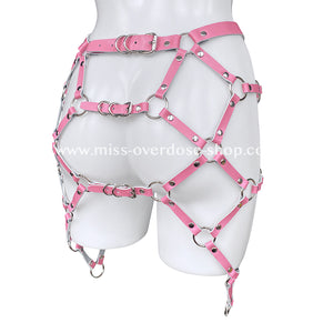 Orchid harness bottoms