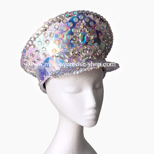 Bubblegum Glam officer hat