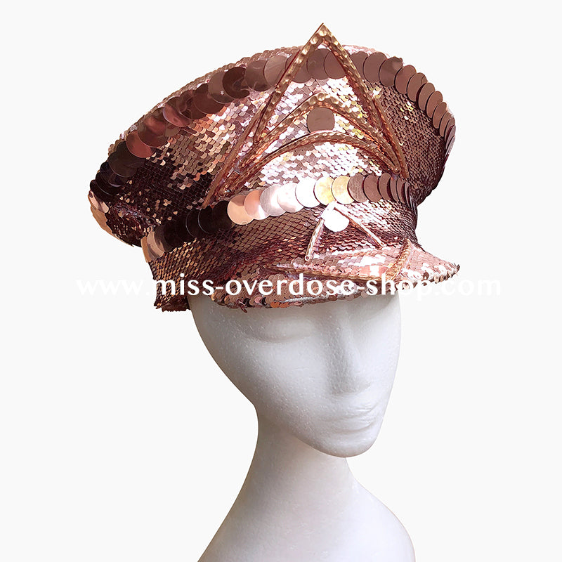 Rose Gold officer hat