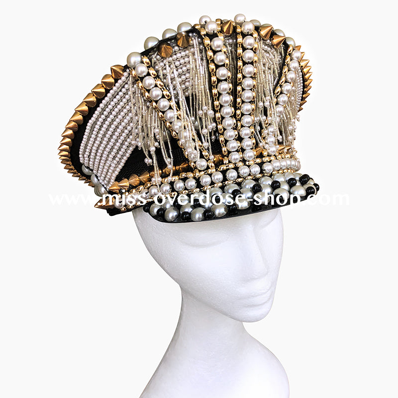 Pearlicious officer hat