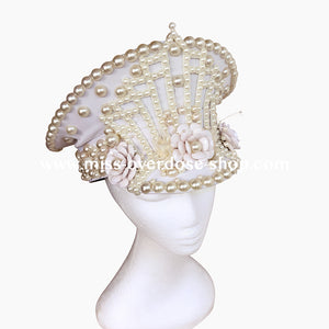 Pearlesque officer hat