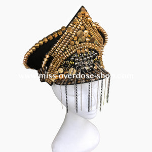 Glam Rock officer hat