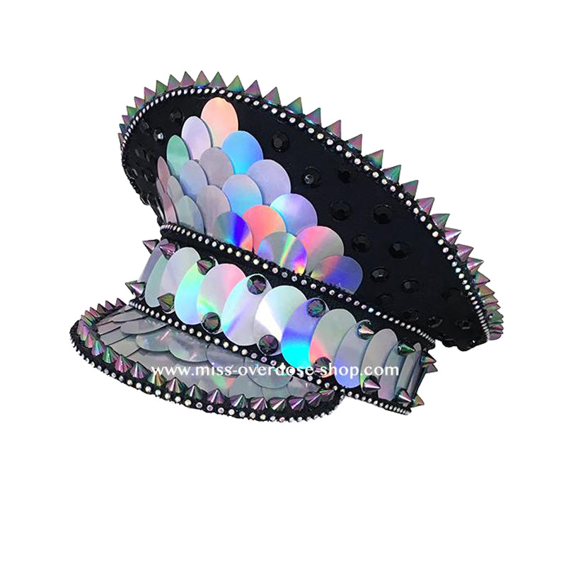 Holographic officer hat