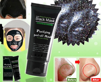 Black Mask Mascarilla Carbón activo