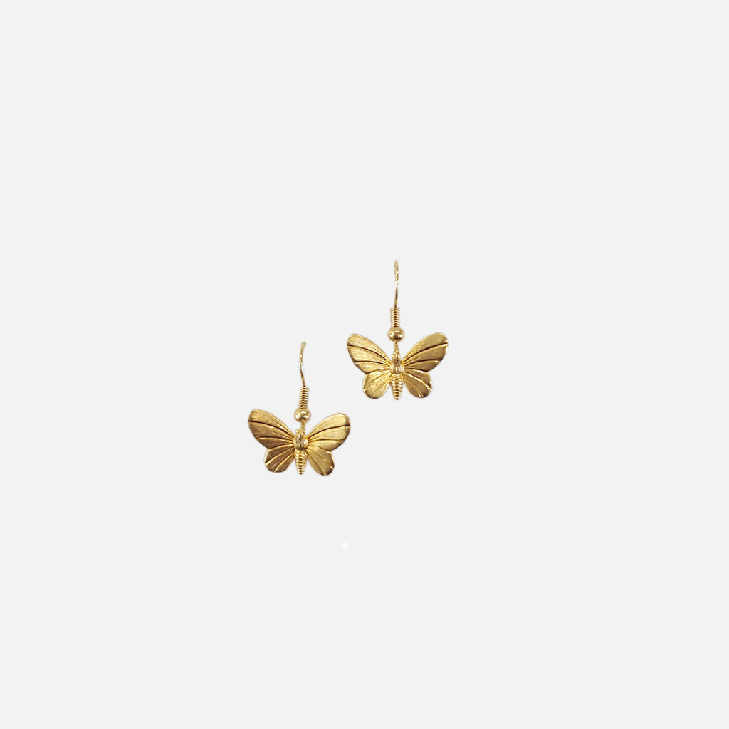 ACCESSORIES // PETITE BUTTERFLY EARRINGS