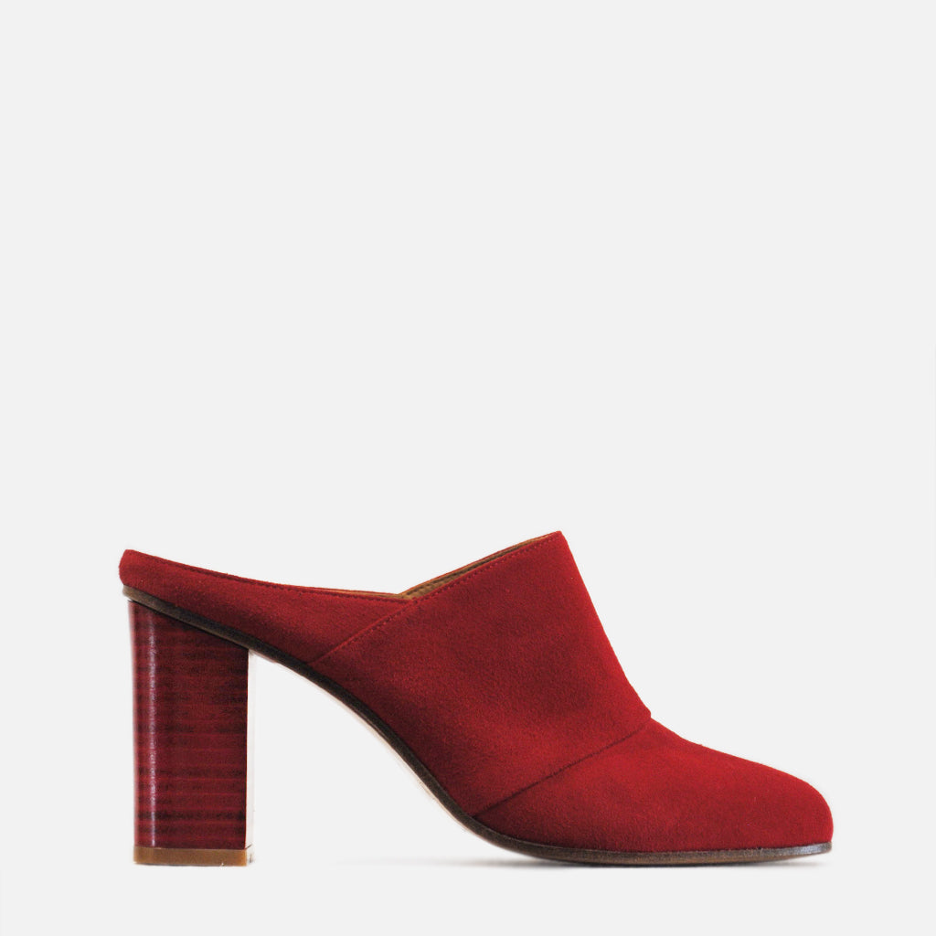 REVIE Capricorn Mules, High Heels, Shoes, Footwear, Designed in New Zealand, Handmade Quality Leather shoes