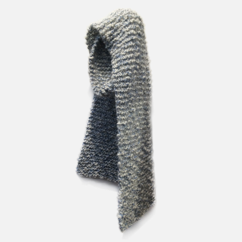 REVIE SCARF // ICE BLUE
