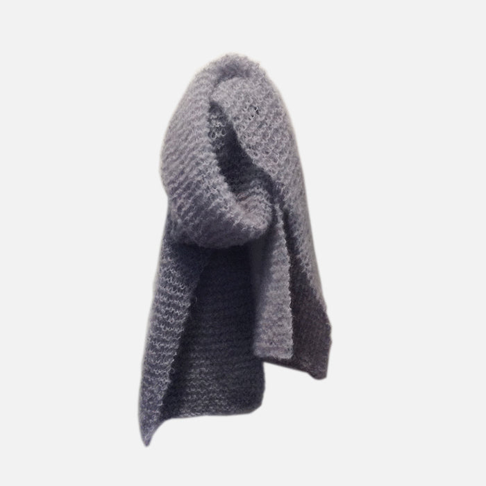 REVIE SCARF // MOHAIR DUSK