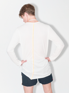 Lightweight cotton T-shirt long sleeve