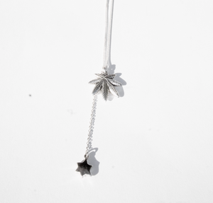 "Silver ""Weed"" chain"