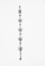 "Load image into Gallery viewer, Silver ""Weed"" bracelet"
