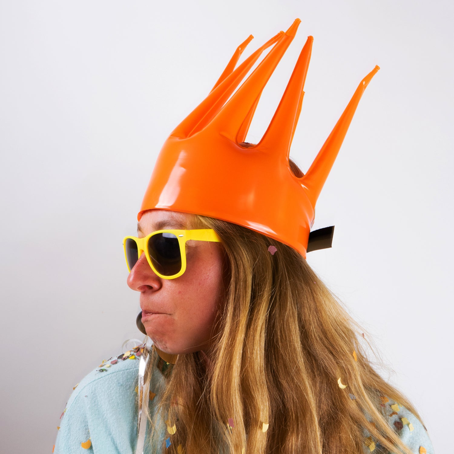 Oranje Trötenkrone® - The Party Blower Crown