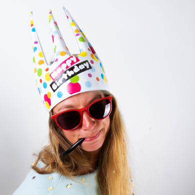 Birthday Trötenkrone® - The Party Blower Crown