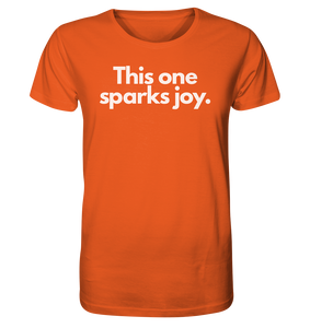 This one sparks joy - Organic Shirt
