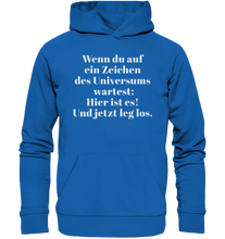 Load image into Gallery viewer, ZEICHEN DES UNIVERSUMS - Premium Unisex Hoodie