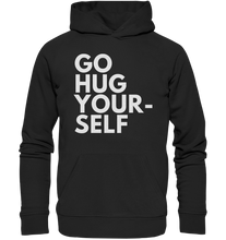 Load image into Gallery viewer, Go hug yourself - Premium Unisex Hoodie