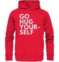 Laden Sie das Bild in den Galerie-Viewer, Go hug yourself - Premium Unisex Hoodie