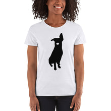 Laden Sie das Bild in den Galerie-Viewer, Women's OVERDOG T-shirt weiß white LAPALOMA Wear Frauen Girls