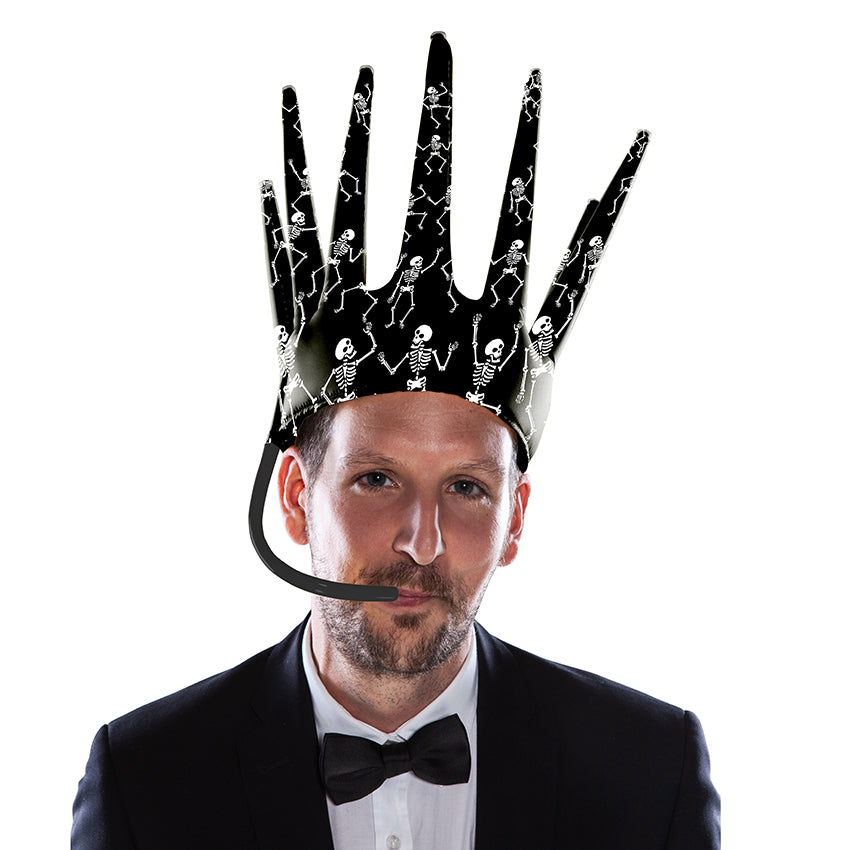The Trötenkrone or Party Blower Crown is the ultimate Fan Hat, the perfect Party Hat which creates a Sound. The funniest Accessoire you've seen so far. Innovative Merchandise! Chinese New Year Party