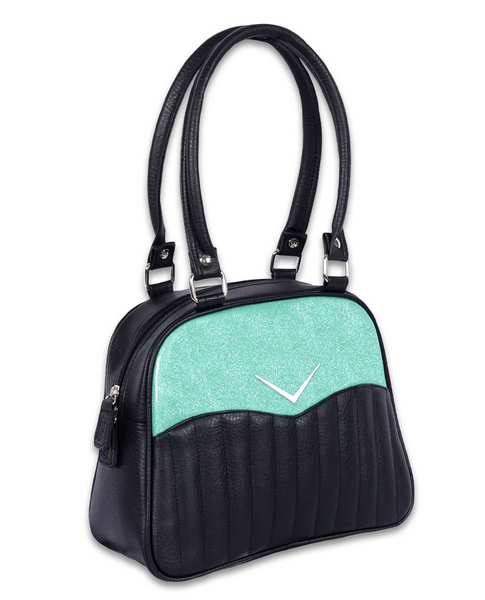 Liquor Brand Vega Bowler Mint Purse