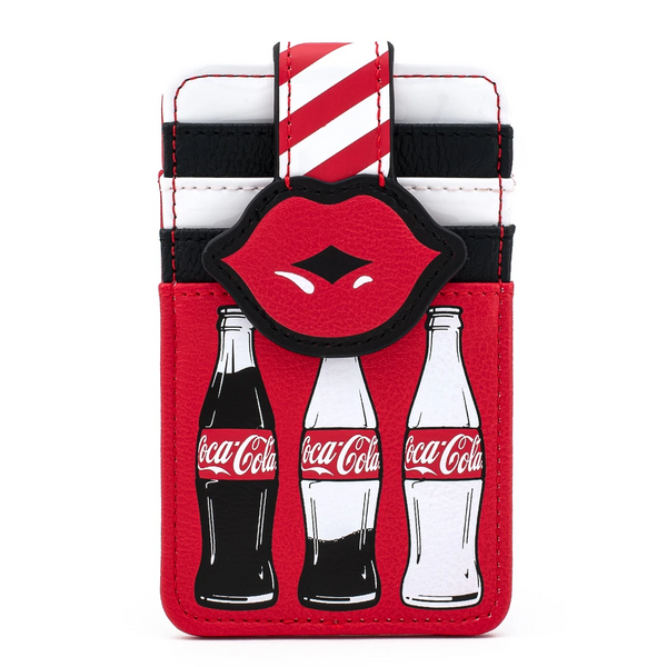 Loungefly Coca-Cola Bottles and Lips Cardholder
