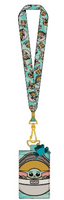 Loungefly Star Wars Mandalorian The Child Lanyard with Cardholder