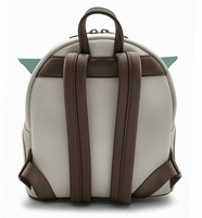 Loungefly Mandalorian The Child Baby Yoda Mini Backpack