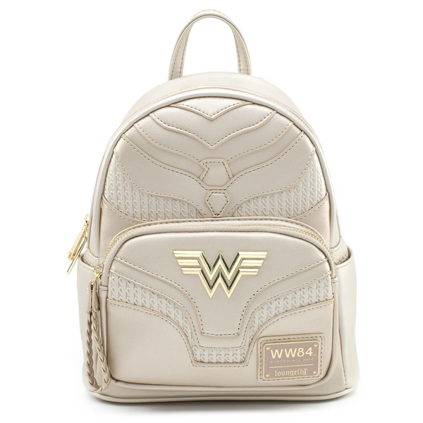 Loungefly DC Comics Wonder Woman Metallic Mini Backpack