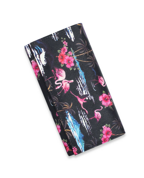 Liquor Brand Flamingos Wallet