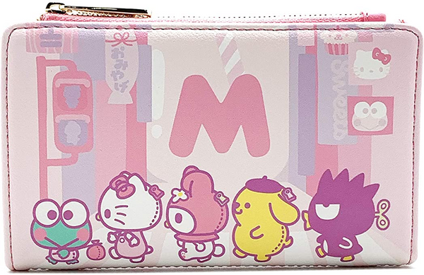 Loungefly Hello Kitty Kawaii Flap Wallet