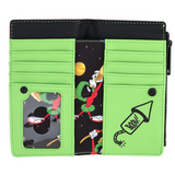 Loungefly Marvin the Martian K-9 Flap Wallet