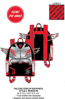 Loungefly Marvel Falcon Cosplay Mini Backpack PRE-ORDER, Price $75
