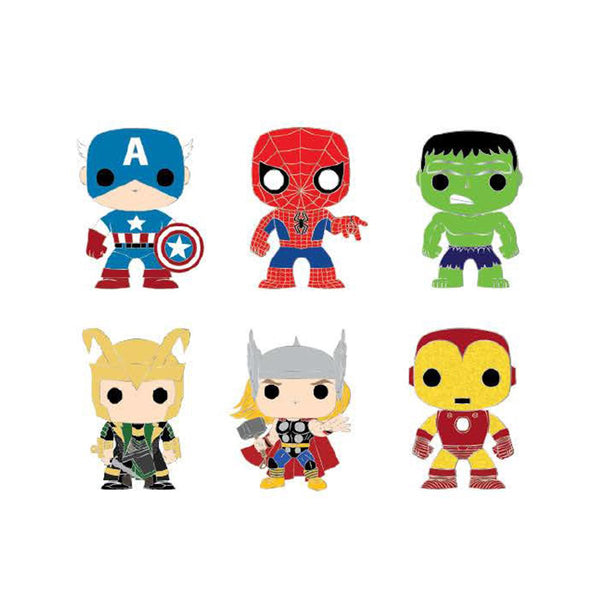 Pop by Loungefly Marvel Classic Blind Box Enamel Pin