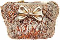 Loungefly Disney Gold Minnie Fanny Pack