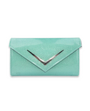 Liquor Brand Mint Chevron Wallet