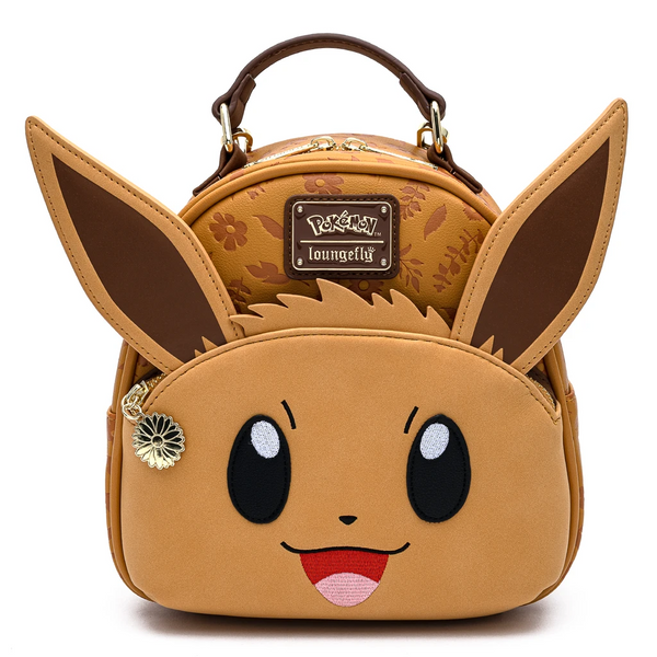 Loungefly Pokemon Eevee Convertible Mini Backpack